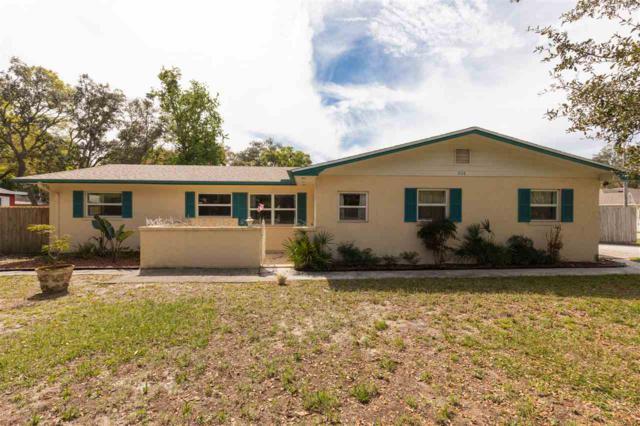 608 Segovia Rd., St Augustine, FL 32086 (MLS #185856) :: Florida Homes Realty & Mortgage