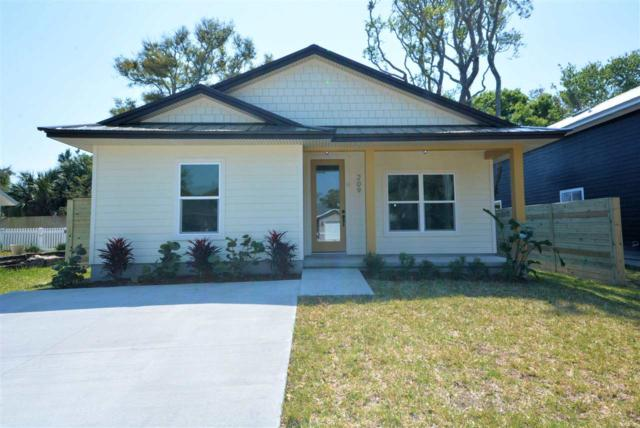 209 3rd Street, St Augustine Beach, FL 32080 (MLS #185913) :: 97Park