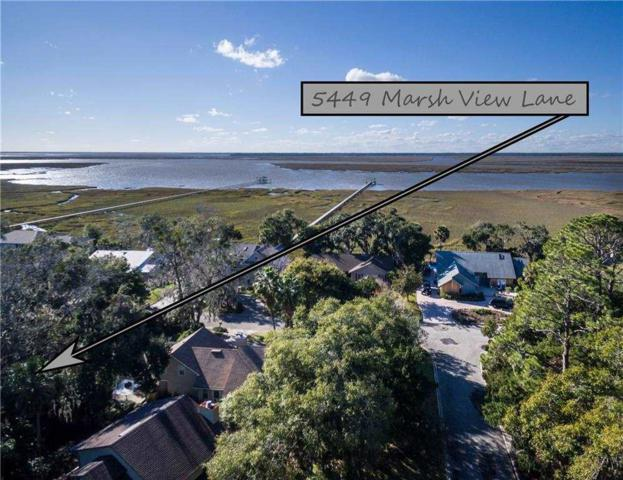 5449 Marsh View Lane, Fernandina Beach, FL 32034 (MLS #186106) :: Memory Hopkins Real Estate
