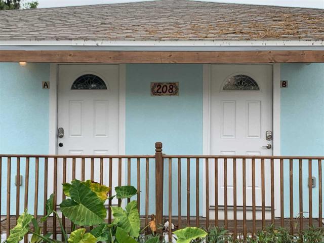 208 8th Street, St Augustine Beach, FL 32080 (MLS #186225) :: 97Park