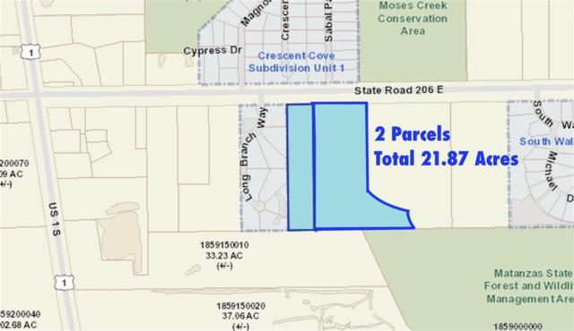"Sr 206 E ""Plantation Pines"", St Augustine, FL 32086 (MLS #187148) :: Tyree Tobler | RE/MAX Leading Edge"
