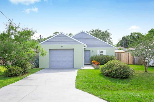 157 Stewart St, St Augustine, FL 32084 (MLS #187366) :: Tyree Tobler   RE/MAX Leading Edge