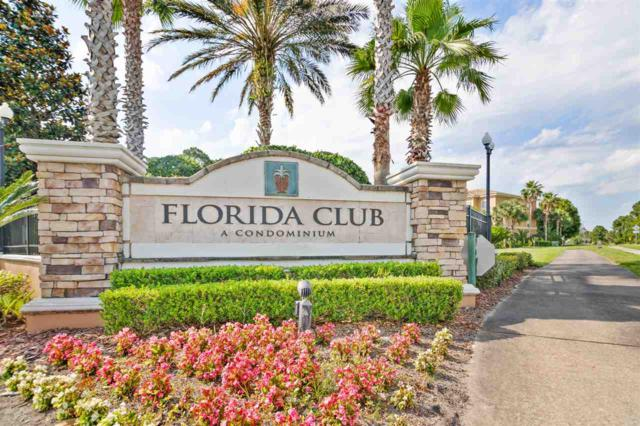 540 Florida Club Blvd Unit 110, St Augustine, FL 32084 (MLS #187395) :: 97Park