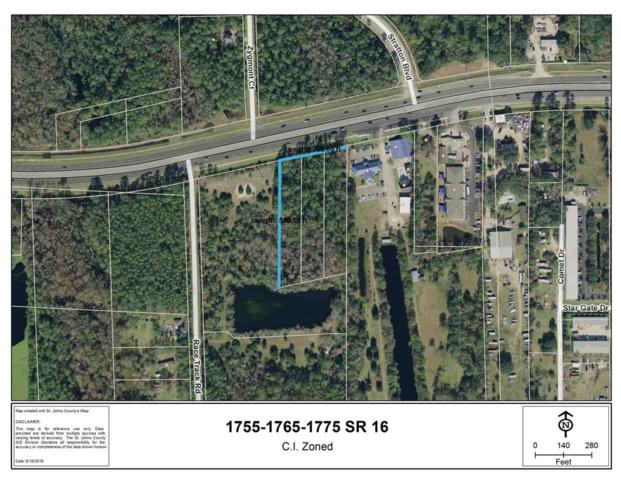 1755-1765-1775 State Road 16, St Augustine, FL 32086 (MLS #188053) :: Memory Hopkins Real Estate