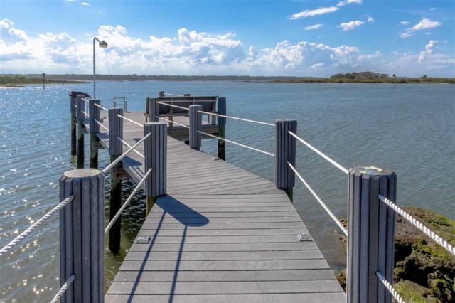 115 Sunset Harbor Way C103 W/Boat Slip & Garage, St Augustine, FL 32080 (MLS #188458) :: Tyree Tobler | RE/MAX Leading Edge