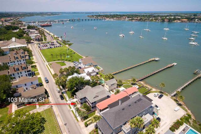 103 Marine St, St Augustine, FL 32084 (MLS #188578) :: Noah Bailey Group