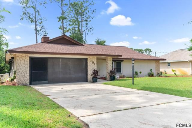 151 Bren Mar Lane, Palm Coast, FL 32137 (MLS #188742) :: Tyree Tobler | RE/MAX Leading Edge