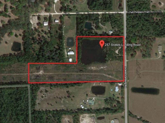 257 & 271 Stokes Landing Rd., Palatka, FL 32177 (MLS #189172) :: Tyree Tobler | RE/MAX Leading Edge