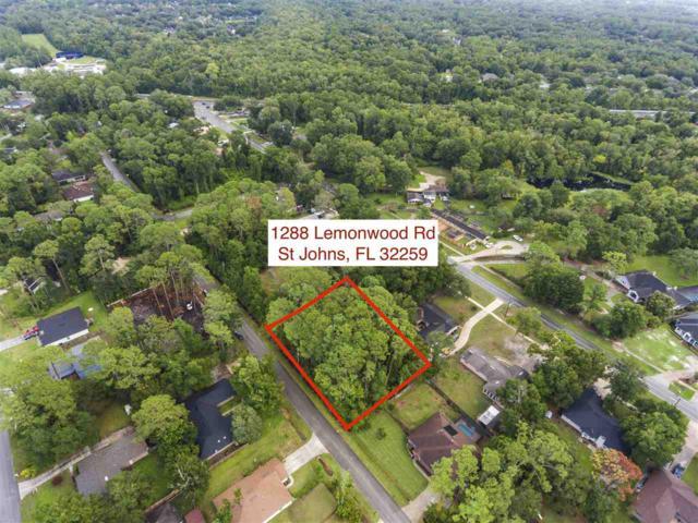 1288 Lemonwood Rd, St Johns, FL 32259 (MLS #189286) :: Tyree Tobler | RE/MAX Leading Edge