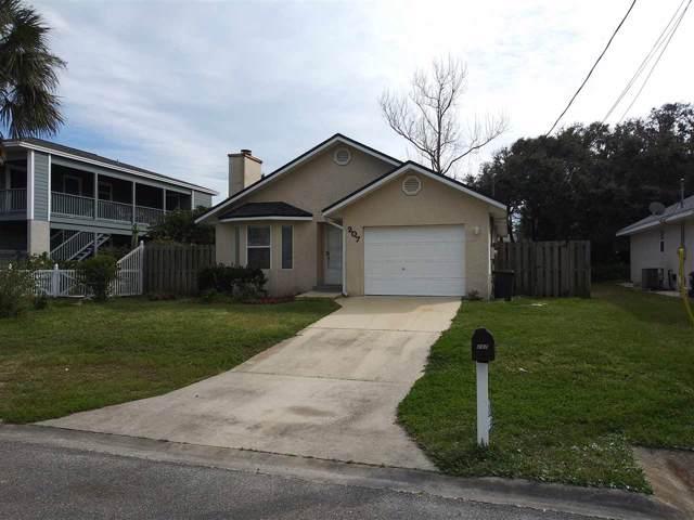 207 C Street, St Augustine Beach, FL 32080 (MLS #191311) :: Tyree Tobler | RE/MAX Leading Edge