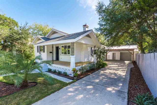 12 Poinciana Ave, St Augustine, FL 32084 (MLS #191617) :: Memory Hopkins Real Estate