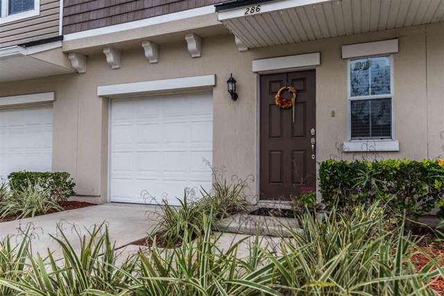 286 Moultrie Village Ln, St Augustine, FL 32086 (MLS #192756) :: Noah Bailey Group