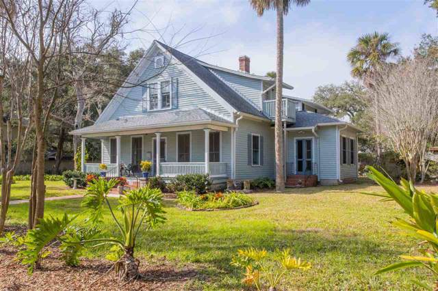 142 Marine St, St Augustine, FL 32084 (MLS #193075) :: Noah Bailey Group