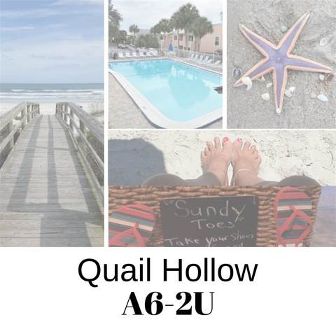 6300 S A1a A6-2U, St Augustine, FL 32080 (MLS #193704) :: 97Park
