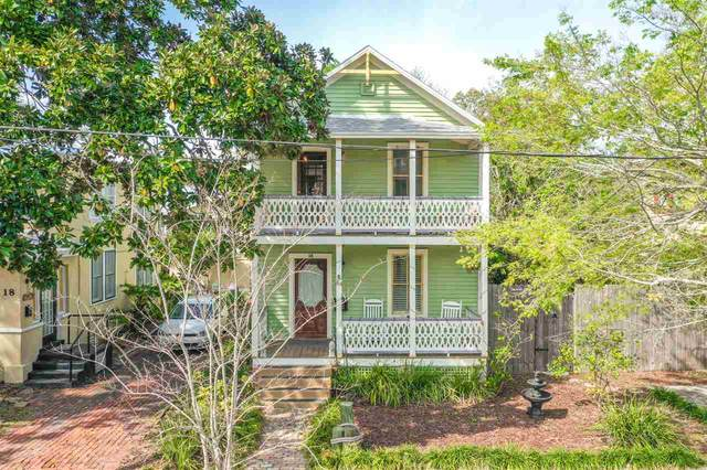 16 Cincinnati Ave, St Augustine, FL 32084 (MLS #194176) :: Noah Bailey Group
