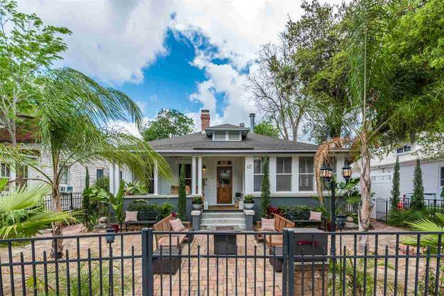 62 Saragossa St., St Augustine, FL 32084 (MLS #194342) :: Noah Bailey Group
