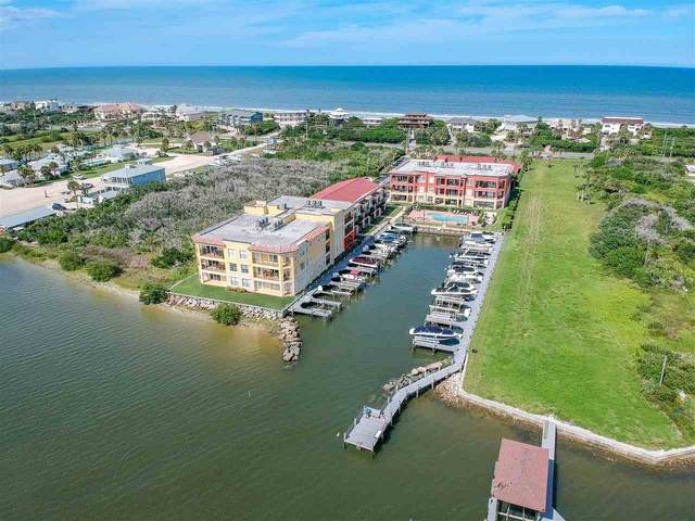 130 Sunset Harbor #103 W/Boatslip, St Augustine, FL 32080 (MLS #194491) :: Noah Bailey Group
