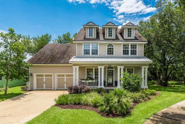541 Weeping Willow Lane, St Augustine, FL 32080 (MLS #195716) :: Memory Hopkins Real Estate