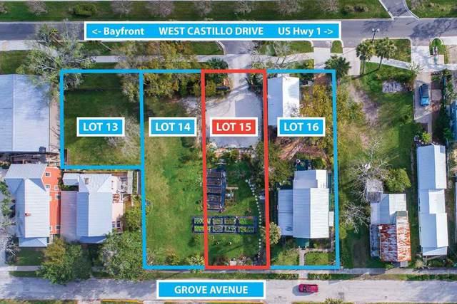 28 W Castillo Lots 14 & 15, St Augustine, FL 32084 (MLS #195785) :: Noah Bailey Group