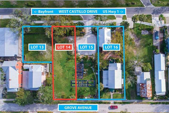 28 W. Castillo Ave Lot 14, St Augustine, FL 32084 (MLS #195787) :: Noah Bailey Group