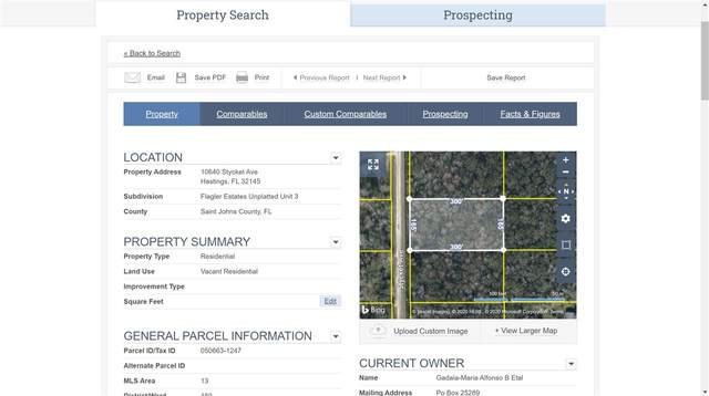 10640 Stycket Avenue, Hastings, FL 32145 (MLS #196415) :: 97Park