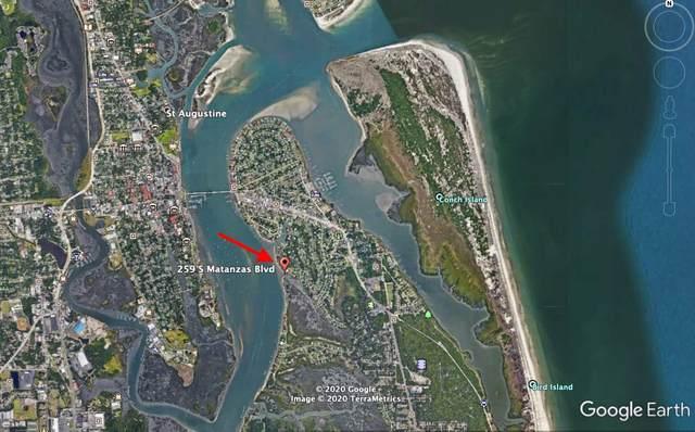 259 S Matanzas Blvd, St Augustine, FL 32080 (MLS #197734) :: Keller Williams Realty Atlantic Partners St. Augustine