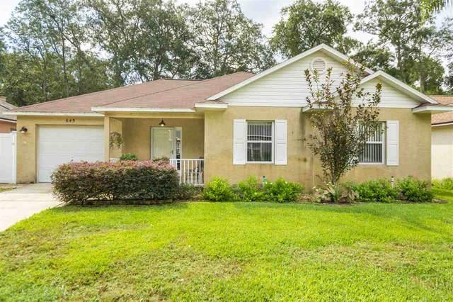 645 Intracoastal Cir, St Augustine, FL 32095 (MLS #197771) :: Memory Hopkins Real Estate