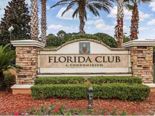 535 Florida Club Blvd Unit 107 W/ Garage, St Augustine, FL 32804 (MLS #197906) :: Keller Williams Realty Atlantic Partners St. Augustine