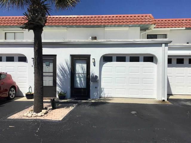 3900 S Ocean Shore Blvd #5, Flagler Beach, FL 32136 (MLS #198809) :: The DJ & Lindsey Team