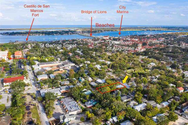 63 Lemon St, St Augustine, FL 32084 (MLS #198998) :: The Impact Group with Momentum Realty