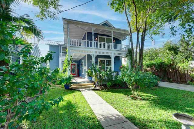 13 Ballard Ave, St Augustine, FL 32084 (MLS #199311) :: 97Park