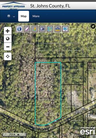 1796 Carter Rd, St Augustine, FL 32084 (MLS #199469) :: The Newcomer Group