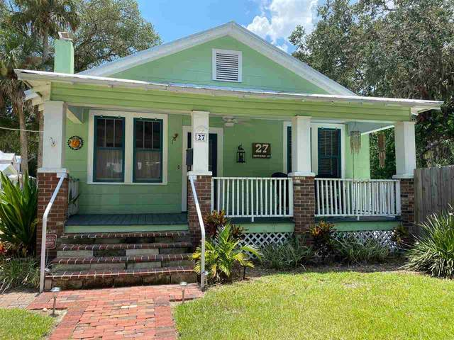 27 Dufferin Street, St Augustine, FL 32084 (MLS #199984) :: Memory Hopkins Real Estate