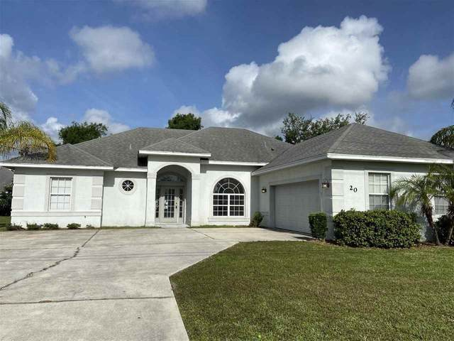 20 Rolling Sands Dr, Palm Coast, FL 32164 (MLS #210044) :: Century 21 St Augustine Properties
