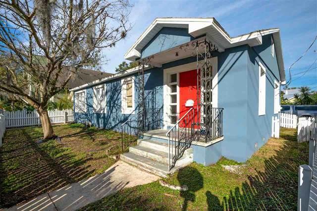 56 Saragossa St., St Augustine, FL 32084 (MLS #210222) :: The Perfect Place Team