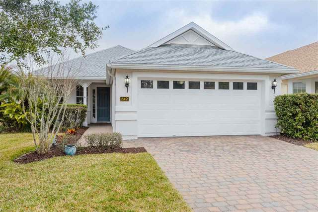 649 Copperhead Circle, St Augustine, FL 32092 (MLS #210301) :: The Newcomer Group