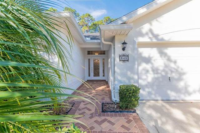 845 Crestwood Drive, St Augustine, FL 32086 (MLS #210344) :: Memory Hopkins Real Estate