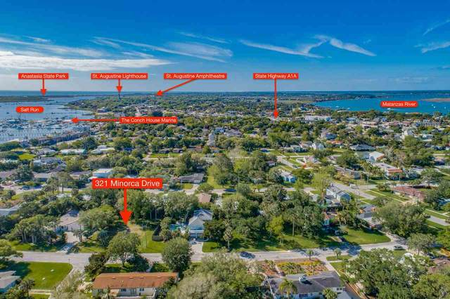 321 Minorca Ave., St Augustine, FL 32080 (MLS #211164) :: CrossView Realty