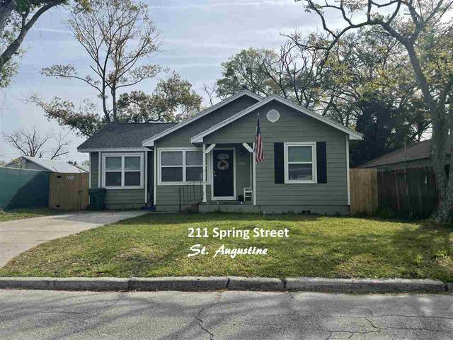 211 Spring Street, St Augustine, FL 32084 (MLS #211740) :: Olde Florida Realty Group
