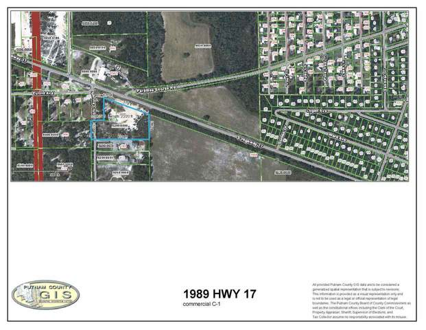 1989 S Highway 17, Crescent City, FL 32112 (MLS #212040) :: Olde Florida Realty Group