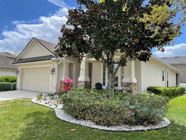 417 S Hidden Tree Dr, St Augustine, FL 32086 (MLS #212329) :: CrossView Realty