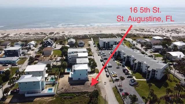 16 5Th St, St Augustine Beach, FL 32080 (MLS #212444) :: Endless Summer Realty