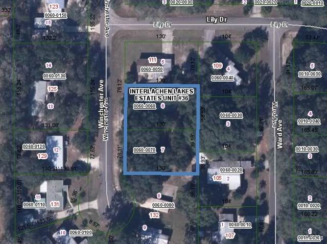 0 Winchester, Interlachen, FL 32148 (MLS #212568) :: The Perfect Place Team