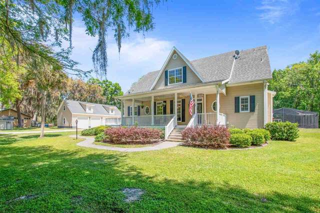 4198 S Francis Rd, St Augustine, FL 32092 (MLS #212691) :: CrossView Realty