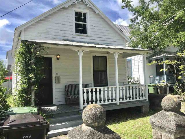 41 Grove Ave, St Augustine, FL 32084 (MLS #213035) :: Olde Florida Realty Group