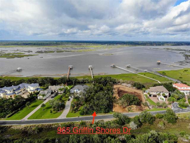 965 N Griffin Shores Dr, St Augustine, FL 32080 (MLS #213235) :: Noah Bailey Group