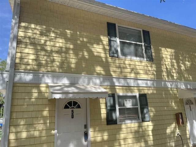 4420 Carter Rd Unit 50 Unit 50, St Augustine, FL 32086 (MLS #213525) :: Noah Bailey Group