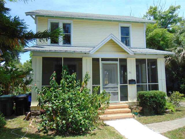 26 Joiner Street, St Augustine, FL 32084 (MLS #213737) :: Noah Bailey Group