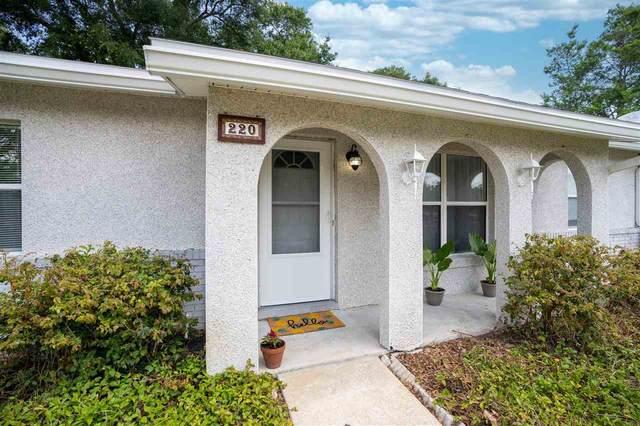 220 Shores Blvd, St Augustine, FL 32086 (MLS #213831) :: Olde Florida Realty Group