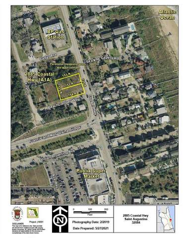 2885 Coastal Hwy, St Augustine, FL 32084 (MLS #214130) :: The Collective at Momentum Realty